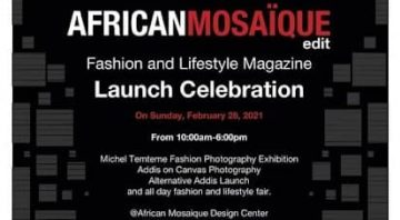Launch of The African Mosaïque edit