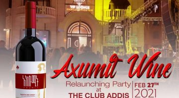 Axumite Wine is hosting an exclusive relaunching party
