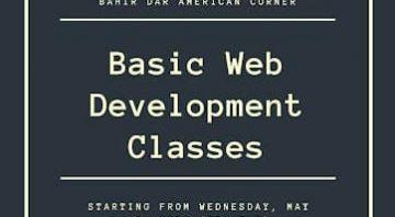 Basic Web Development Classes: introduction to web development